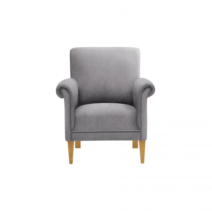 Jasmine Accent Chair in Cosmo Pewter - Image 2