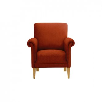 Jasmine Accent Chair in Cosmo Spice