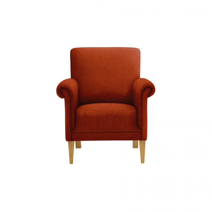 Jasmine Accent Chair in Cosmo Spice - Image 2
