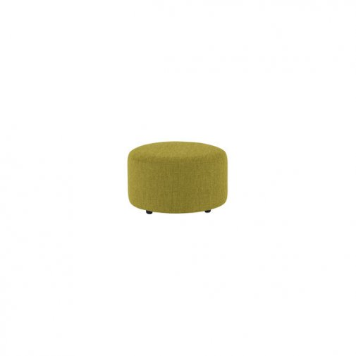 Jasmine Round Footstool in Cosmo Apple