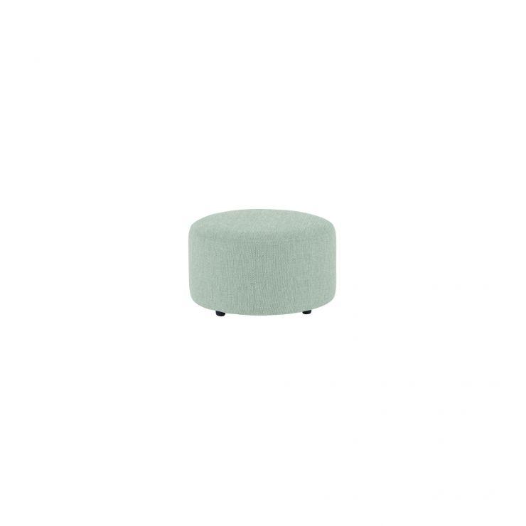Jasmine Round Footstool in Cosmo Duck Egg