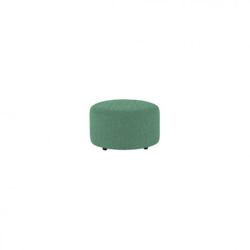 Jasmine Round Footstool in Cosmo Jade