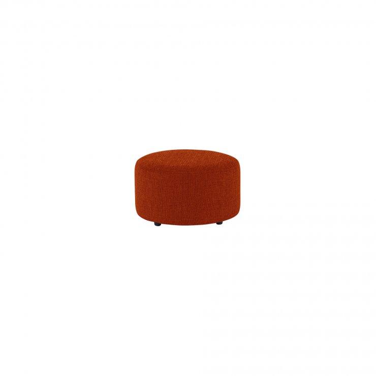 Jasmine Round Footstool in Cosmo Spice - Image 2
