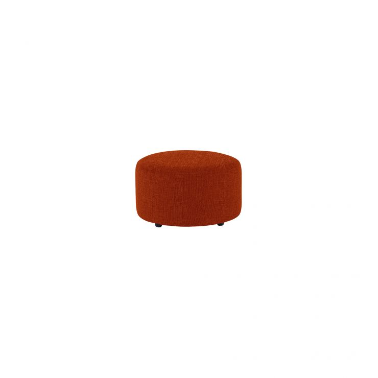 Jasmine Round Footstool in Cosmo Spice - Image 2