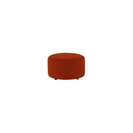 Jasmine Round Footstool in Cosmo Spice