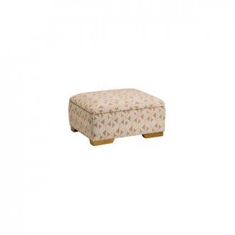 Jasmine Storage Footstool in Bamboo Taupe