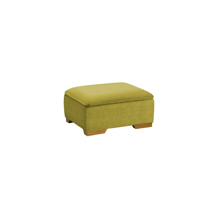 Jasmine Storage Footstool in Cosmo Apple - Image 2