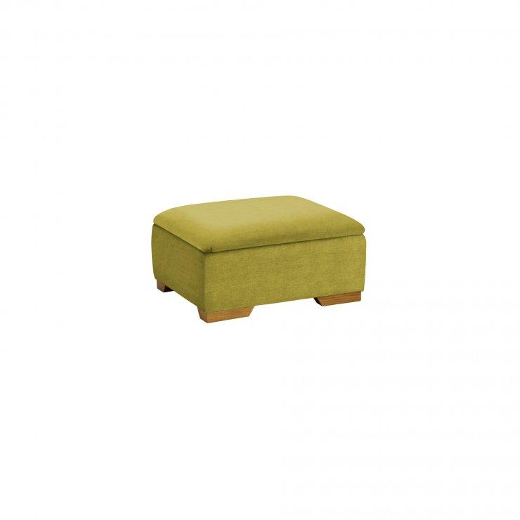Jasmine Storage Footstool in Cosmo Apple - Image 2