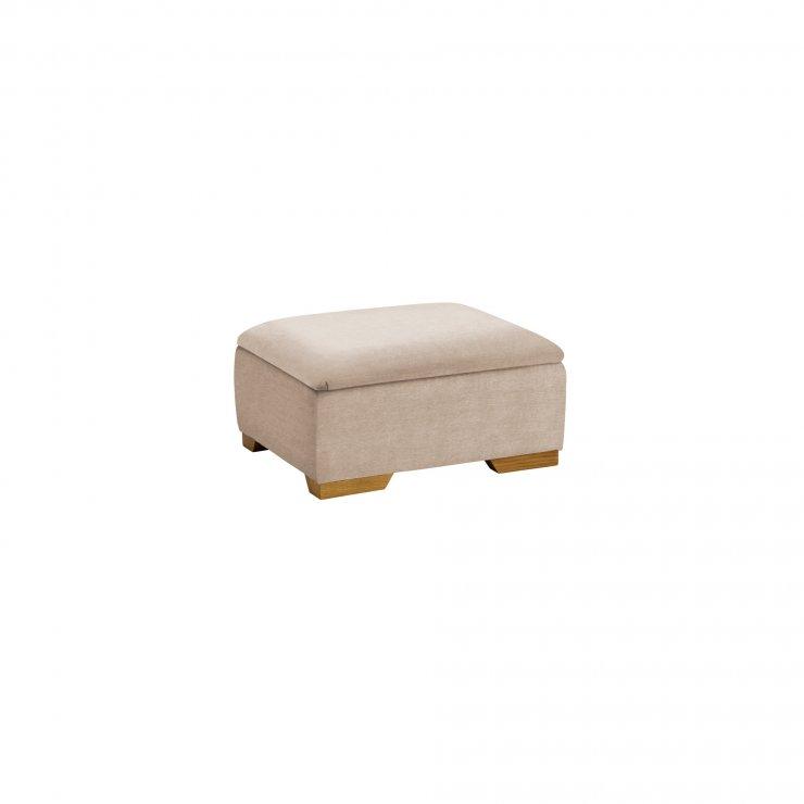 Jasmine Storage Footstool in Grace Linen - Image 2