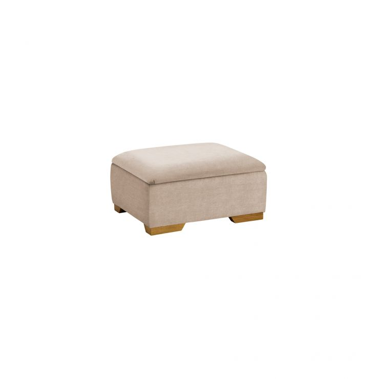 Jasmine Storage Footstool in Grace Linen - Image 2