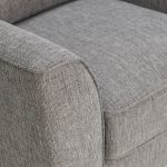 Jensen Silver 3 Seater Sofa with Coral Accent - Thumbnail 6