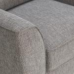 Jensen Silver Armchair with Zest Accent Cushion - Thumbnail 6
