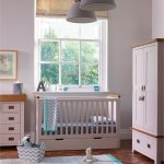 Kemble Rustic Solid Oak and Painted Baby Changer Dresser - Thumbnail 5