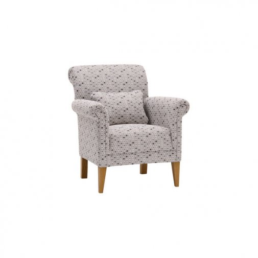 Kirby Accent Chair in Blockbuster Slate