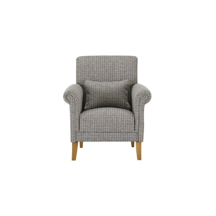 Kirby Accent Chair in Hopscotch Aqua - Image 1