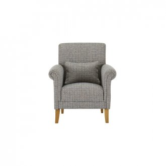 Kirby Accent Chair in Hopscotch Aqua