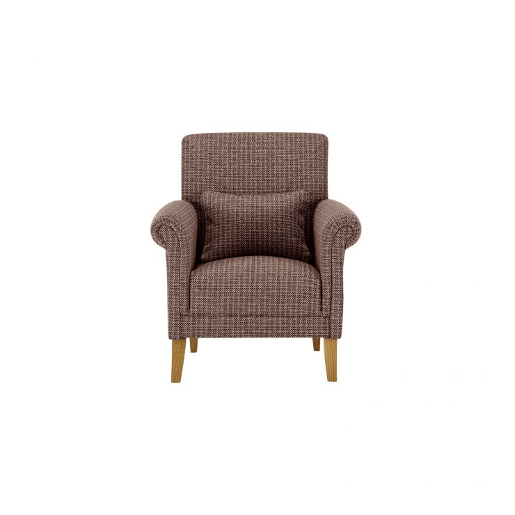 Kirby Accent Chair in Hopscotch Jewel - Image 1