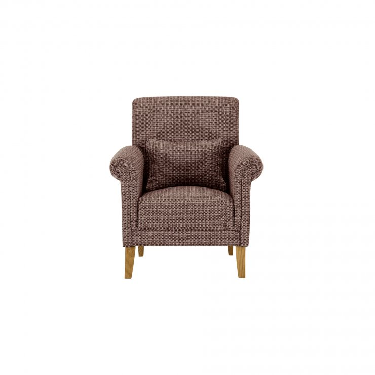 Kirby Accent Chair in Hopscotch Taupe Jewel - Image 1