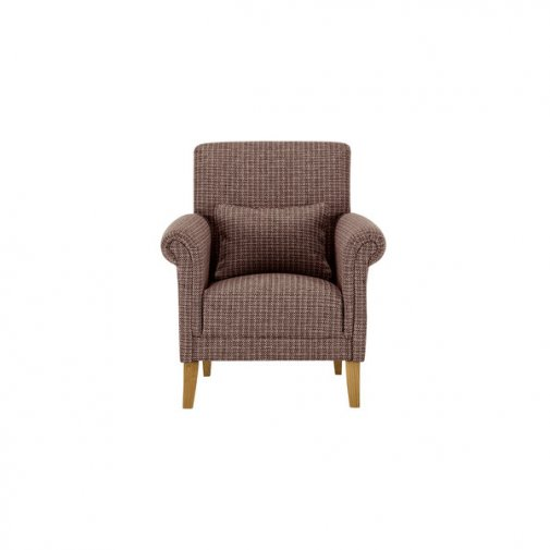 Kirby Accent Chair in Hopscotch Taupe Jewel
