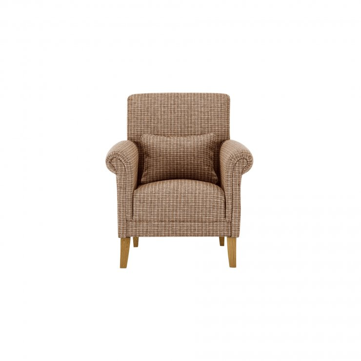 Kirby Accent Chair in Hopscotch Oatmeal - Image 1