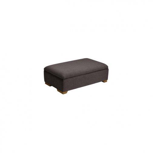 Kirby Storage footstool in Barley Grey