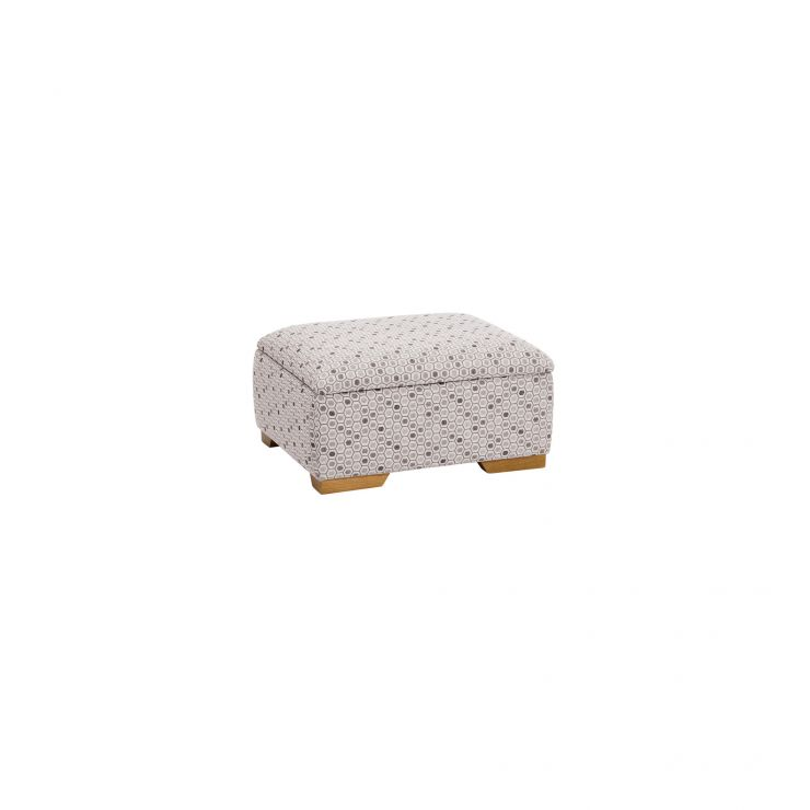Kirby Storage Footstool in Blockbuster Slate - Image 2
