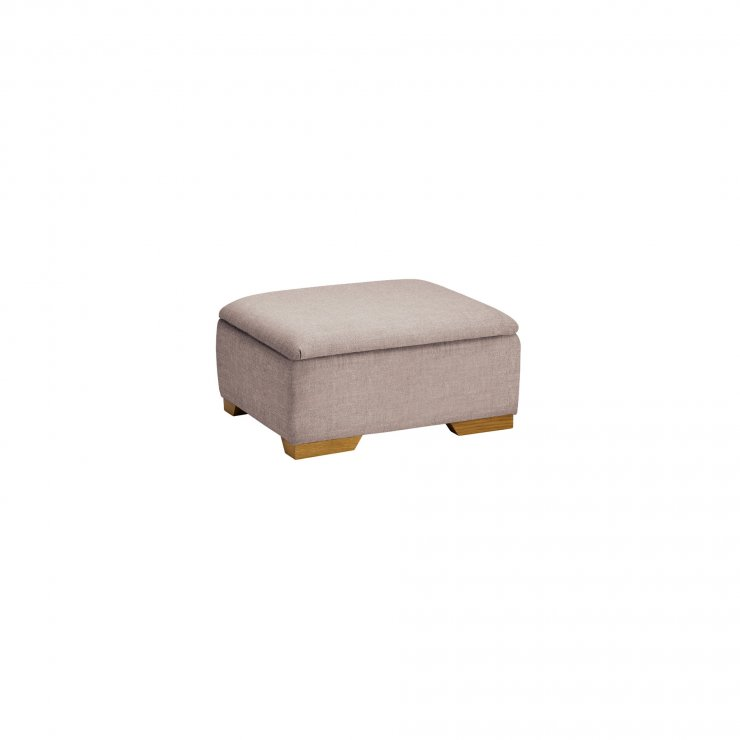 Kirby Storage Footstool in Frisco Natural - Image 2