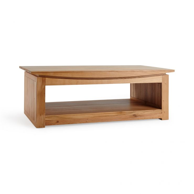 Kyoto Natural Solid Oak Large Coffee Table