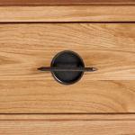 Kyoto Natural Solid Oak Tall Bookcase - Thumbnail 4