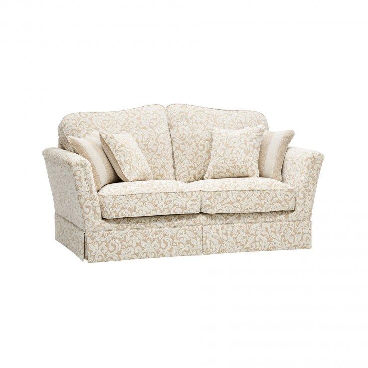 Lanesborough 2 Seater Sofa in Larkin Floral Beige Fabric - Image 6