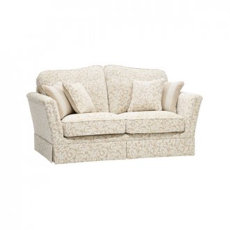 Lanesborough 2 Seater Sofa in Larkin Floral Beige Fabric