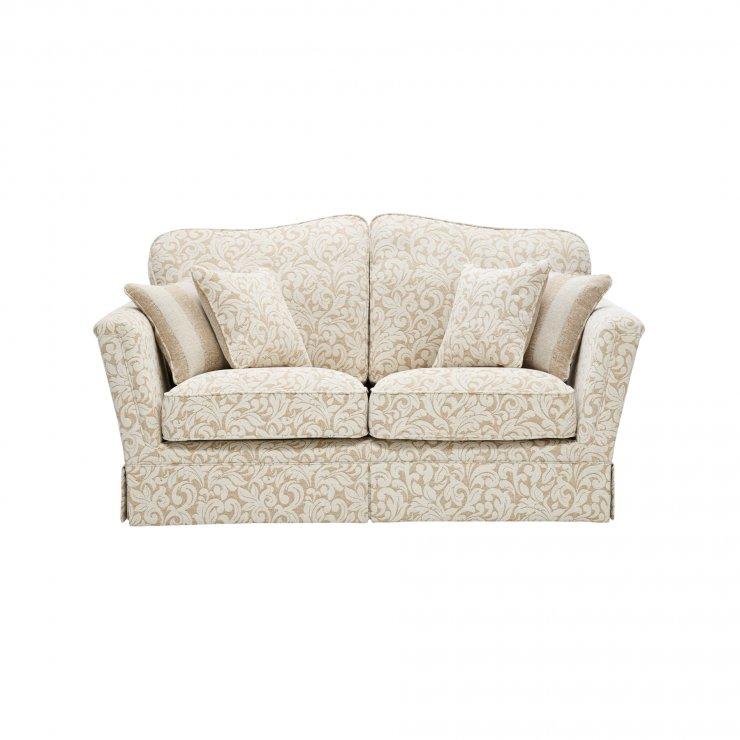 Lanesborough 2 Seater Sofa in Larkin Floral Beige Fabric