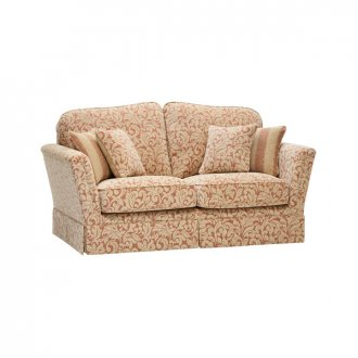 Lanesborough 2 Seater Sofa in Larkin Floral Cinnamon Fabric