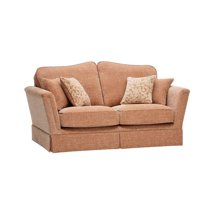 Lanesborough 2 Seater Sofa in Larkin Plain Cinnamon Fabric