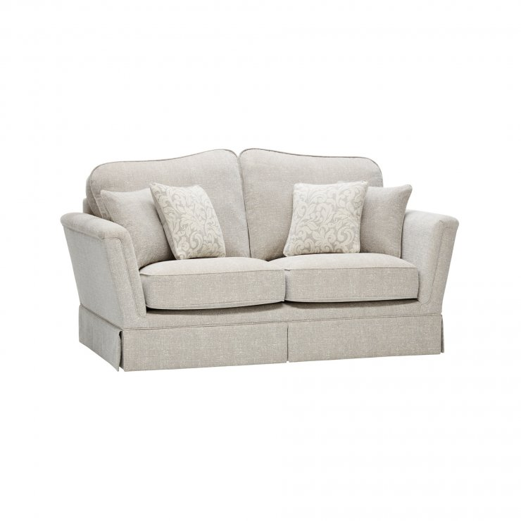 Lanesborough 2 Seater Sofa in Larkin Plain Cream Fabric - Image 6