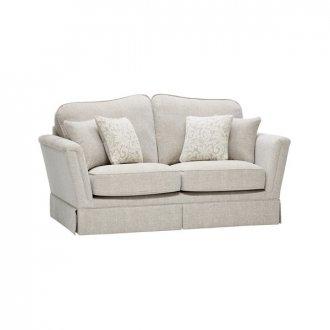 Lanesborough 2 Seater Sofa in Larkin Plain Cream Fabric