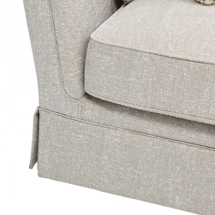 Lanesborough 2 Seater Sofa in Larkin Plain Cream Fabric