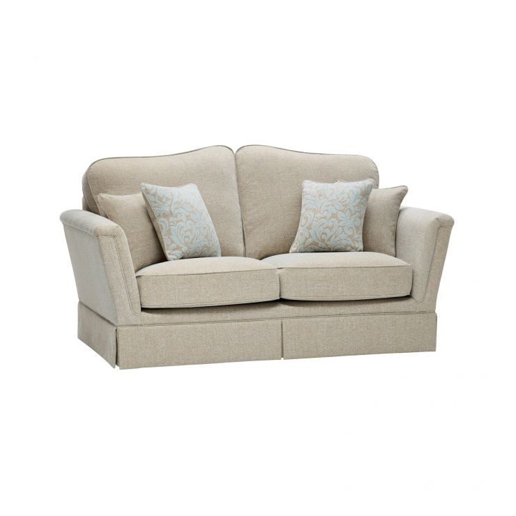 Lanesborough 2 Seater Sofa in Larkin Plain Duck Egg Fabric