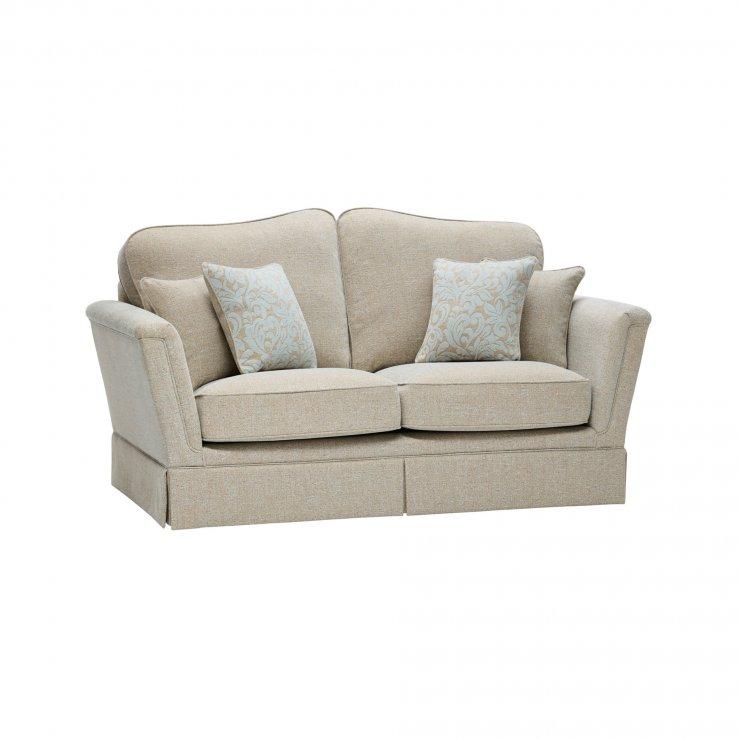 Lanesborough 2 Seater Sofa in Larkin Plain Duck Egg Fabric - Image 6