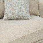 Lanesborough 2 Seater Sofa in Larkin Plain Duck Egg Fabric - Thumbnail 5