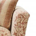 Lanesborough 3 Seater Sofa in Larkin Floral Cinnamon Fabric - Thumbnail 5