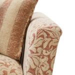 Lanesborough 3 Seater Sofa in Larkin Floral Cinnamon Fabric - Thumbnail 5