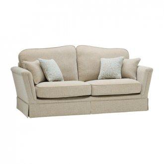 Lanesborough 3 Seater Sofa in Larkin Plain Duck Egg Fabric