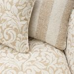 Lanesborough 4 Seater Sofa in Larkin Floral Beige Fabric - Thumbnail 6