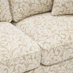 Lanesborough 4 Seater Sofa in Larkin Floral Beige Fabric - Thumbnail 5