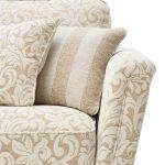 Lanesborough 4 Seater Sofa in Larkin Floral Beige Fabric - Thumbnail 8