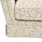 Lanesborough 4 Seater Sofa in Larkin Floral Beige Fabric - Thumbnail 9