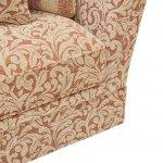 Lanesborough 4 Seater Sofa in Larkin Floral Cinnamon Fabric - Thumbnail 3