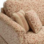 Lanesborough 4 Seater Sofa in Larkin Floral Cinnamon Fabric - Thumbnail 4