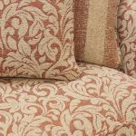 Lanesborough 4 Seater Sofa in Larkin Floral Cinnamon Fabric - Thumbnail 5